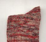 Носки шерстяные красные