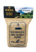 """Плантационный свежеобжаренный кофе РОККА Кофе Никарагуа, зерно, обжарка средняя (500 г) """"ROKKA"""", джут"""