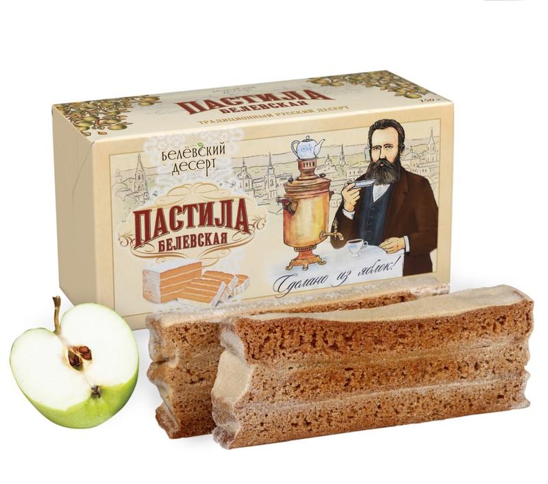 Яблочная белёвская пастила