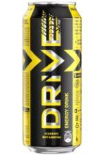 Энергетический напиток Драйв Ми Яблоко (Желт) ж/б 0,449 л