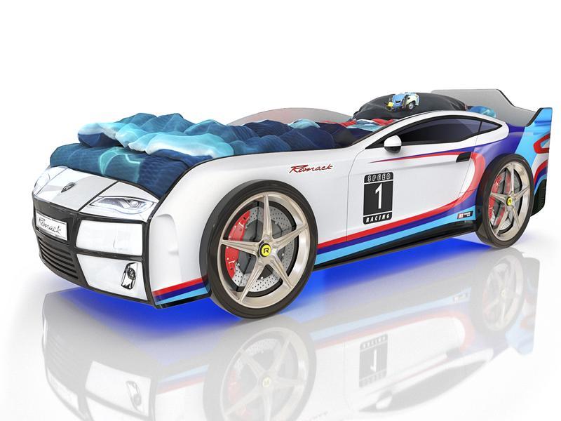 Кровать Kiddy М-Спорт. Габаритные размеры 178*82 см Спальное место 160*70 см Ортопедическое основание.