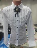 Блузка №53 Стойка брошка 409