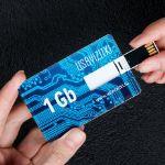 USB флешки-визитки с вашим логотипом оптом