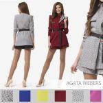 Костюм: жакет + шорты Agata Webers D-147