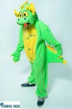Костюм кигуруми Изумрудный Дракон FUNKY EMELALD DRAGON KIGU EmeraldDragon-G-KIGU-FLS-USX