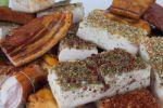 шпик и грудинка соленые, шашлыки, полуфабрикаты