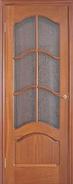 Межкомнатная дверь Luvipol LUVISTIL 736 Sapely Красное дерево (под стекло)