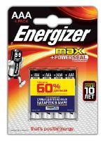 Батарейка Energizer MAX AAA 4 шт
