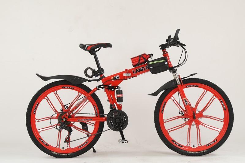 Очень высокое качество. 21 скорость. 18 рама. 26 колеса. Упакованы в плотную картонную коробку.  Комплект: крылья, сумка, замок, бутылка, подножка, фонарь, набор ключей.