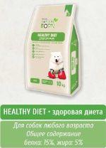 Корм премиум-класса для собак всех возрастов Natural Born Здоровая диета, 10кг Здоровая диета, 10 кг