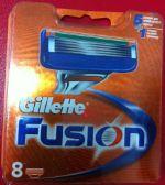 Сменные кассеты Gillette Fusion (8) 11