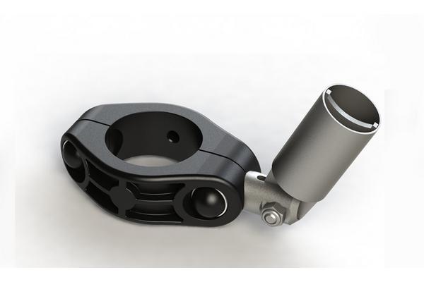 Система крепления фонаря с солнечными батареями на трубу диам. 76 мм ЛЕКО