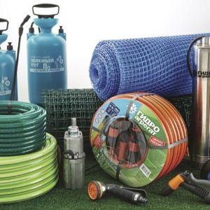Гидроагрегат! Товары для сада: садовые сетки, поливочные шланги и другая продукция для приусадебных.