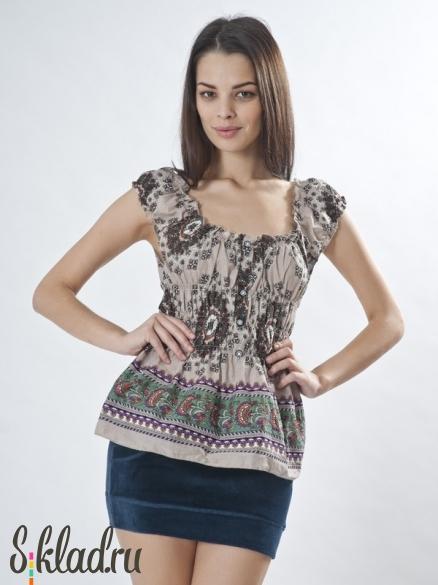 Блузки женские оптом. У нас блузки женские оптом от 180 руб. Красивые и качественным модели.