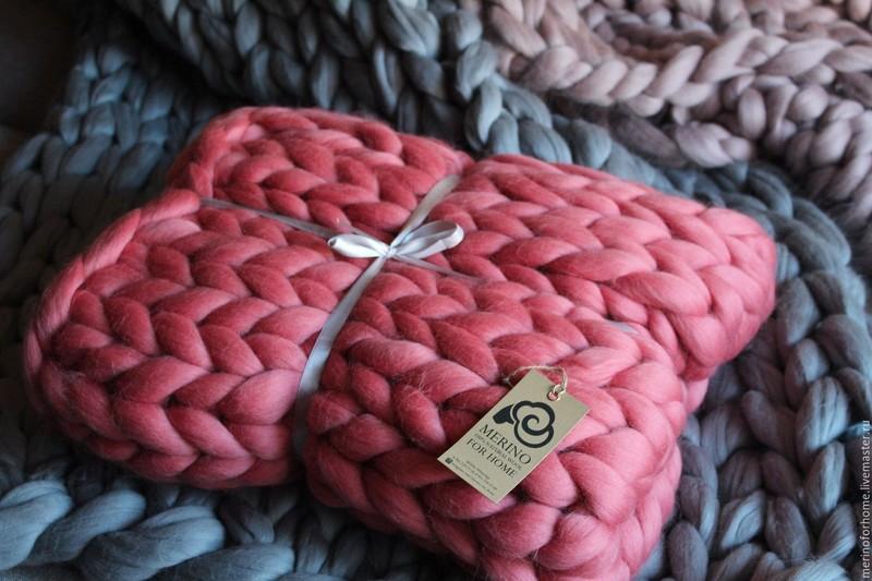 Гигантская пряжа для ручного вязания