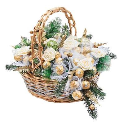 Новогодние сладкие подарки оптом -50% и -15%