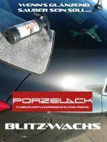 Блитц воск Porzelack, средство для ухода за новым автомобилем.