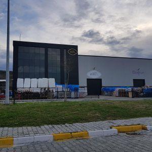 Завод по производству изделий из пластика