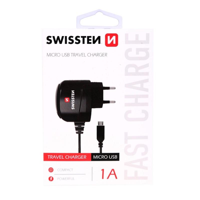 Вместе с автомобильными зарядными устройствами, зарядные устройства в дорогу,  были первыми продуктами в портфолио Swissten. Теперь, вы можете найти в нашем предложении, несколько разных моделей зарядных устройст,в с двумя уровнями производительности. Независимо от типа вашего мобильного телефона, зарядные устройства Swissten оснащены разъемом microUSB, разъемом для молнии, а также портом USB.
