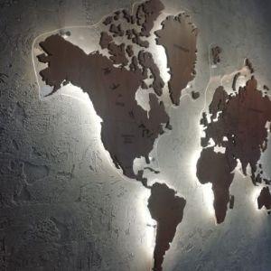 """Наша работа """"Карта мира"""""""