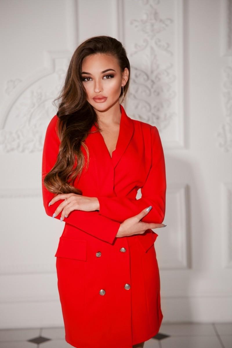 """Арт 181 платье """"somad"""" .Ткань джинс. Цвета: красный, бежевый ,черный и белый. Длина изделия -83 см,длина рукава-61 см. Размеры S и M  Цена 2000"""