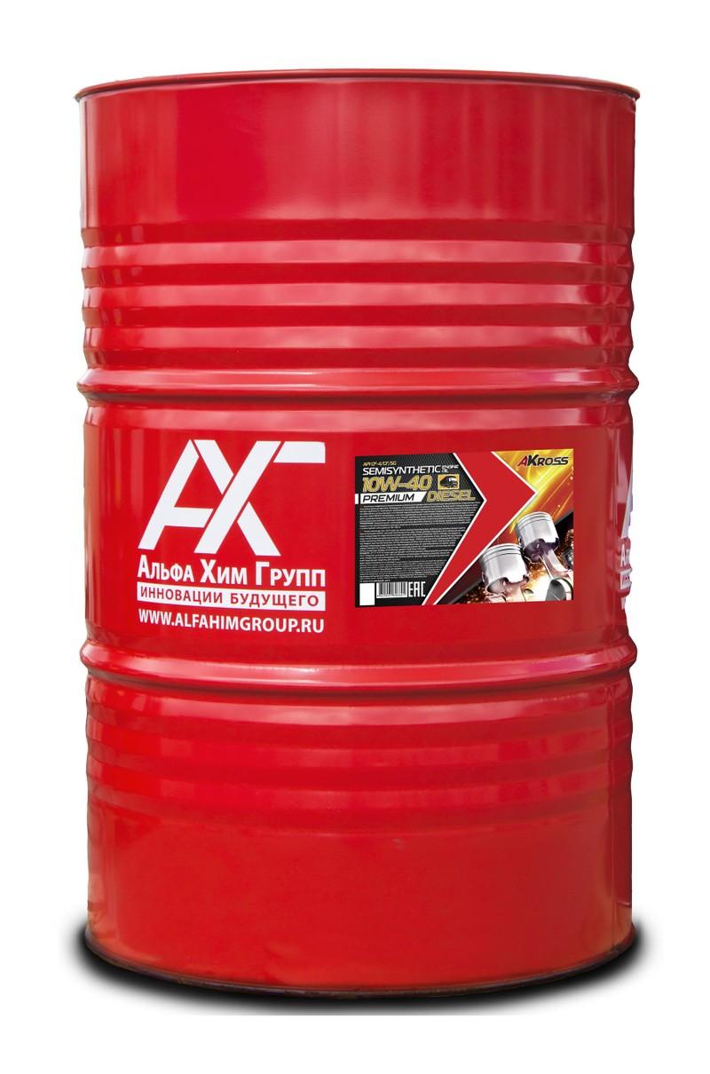 Моторное масло AKROSS PREMIUM DIESEL 10W-40 CF-4/CF/SG