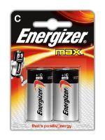 Батарейка Energizer MAX-C (2 шт)