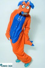 Костюм кигуруми Дракон Оранжевый FUNKY DRAGON ORANGE KIGU Dragon-ORN-KIGU-FLS-USX