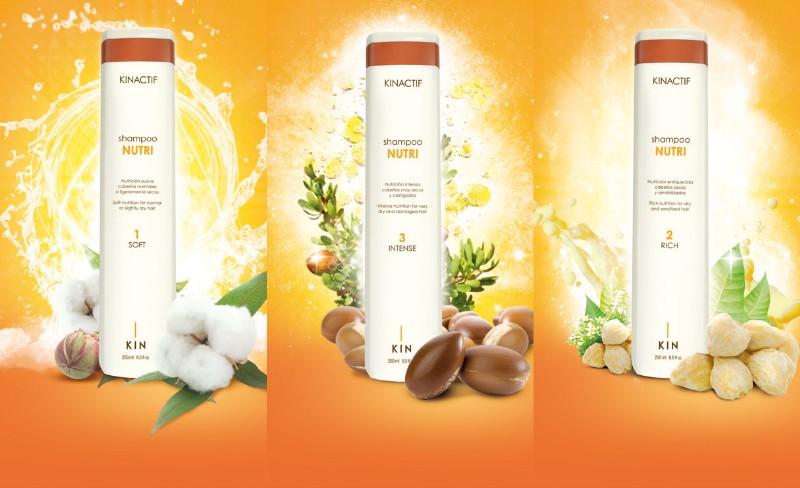 Шампуни из серии Нутри для восстановления нормальных чувствительных и сухих волос