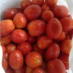 замороженные баклажаны, кабачки, томат
