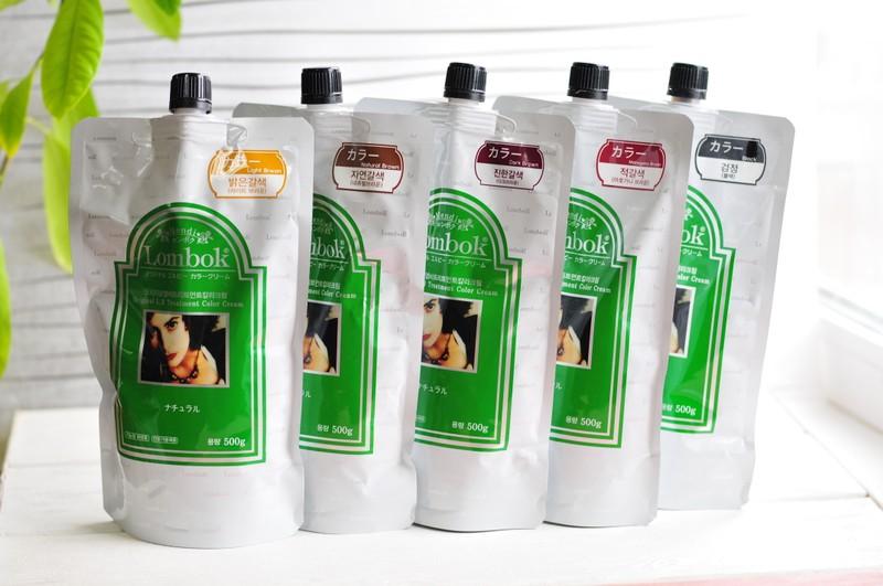 Lombok Original L.B Treatment color (BLACK, DARK BROWN, NATURAL BROWN, LIGHT BROWN, MAHOGANI BROWN) - Система для ухода за поврежденными волосами с экстрактом хны, состоящая из восстанавливающей крем-маски (Original LB Treatment Color Cream) и ламинирующего лосьона (Mendi DLP Lotion). Восстанавливающая маска, увлажняет, делает волосы сильными, придает гладкость и здоровый блеск. Средство для ламинирования содержит полезные вещества, которые надолго остаются внутри волоса, питая и защищая его. В результате ламинирования волосы становятся блестящими, эластичными, объемными.