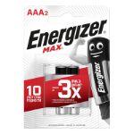Батарейка Energizer MAX AAA 2 шт