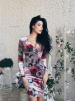 Платье Mira Sezar Фловиз Фловиз