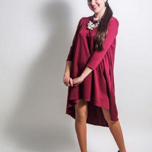 Платье колокольчик Lullababe бордо.