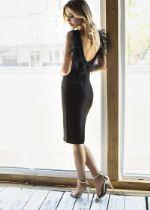 Платье Mira Sezar Флайти (черный) Флайти