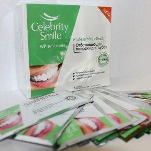 """Отбеливающие полоски для зубов """"Celebrity Smile"""" . Celebrity Smile - это тонкие эластичные полоски, покрытые  отбеливающим гелем. Они точно повторяют уникальную форму ваших зубов."""