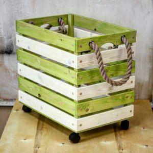 Короб для хранения игрушек из массива