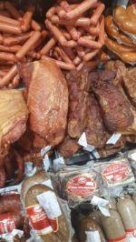 казахстанские колбасы и пельмени