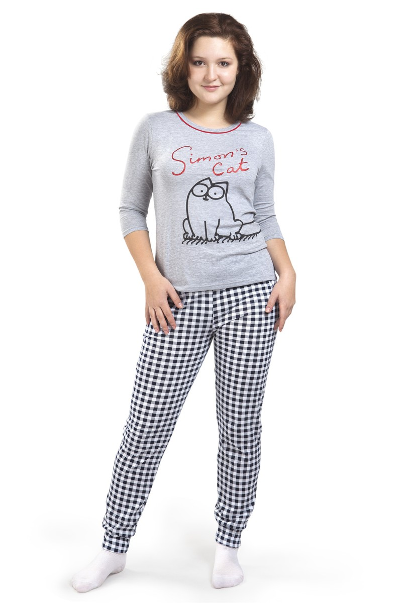 Пижама,кулирка,хлопок 100%,Модель 161/1,размеры с 42 по 52,цена от 420 руб.