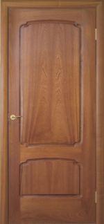 Межкомнатная дверь Luvipol LUVISTIL 737 Sapely Красное дерево (глухая)
