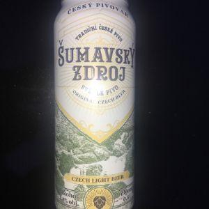 SUMAVSKY ZDROJ               страна производитель Чехия Пиво светлое 3,8% алк, 0,5л.      12х0,5 Старая чешская рецептура.