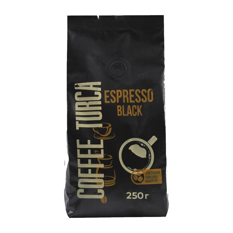 Кофе зерновой Espresso Black Coffee Turca 250г.
