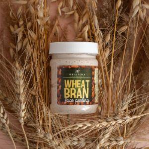 Скраб для лица с пшеничными отрубями