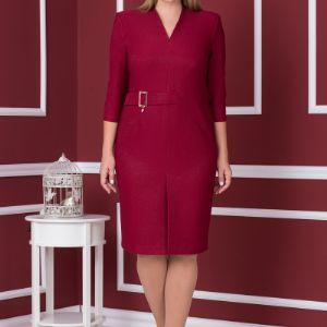 Офисное платье, модель 1548, размерный ряд- 52,54,56