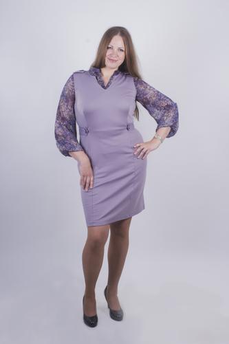 Комплект: сарафан+блузка