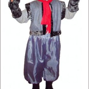 Волк (шапка, перчатки, штаны, жилетка с хвостом) . Волк (шапка, перчатки, штаны, жилетка с хвостом)