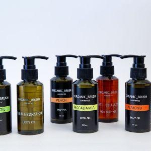 Натуральные масла для тела и лица