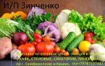 бесплатная доставка овощей по оптовым ценам