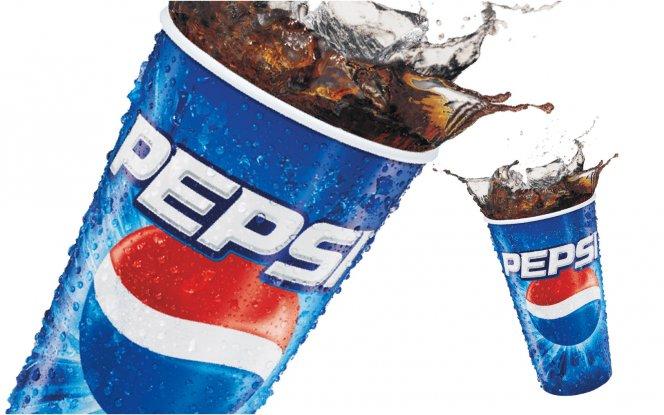 Безалкогольные напитки Пепси-кола