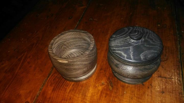 Изделия из мореного дуба